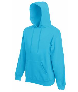 Bluza z kapturem FL - Hooded Sweat   - FL_ 62-208-0_azurowy - Kolor: Azurowy