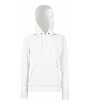 Bluza z kapturem FL 62-038-0 Lady Fit - FL_62-038-0_biały - Kolor: Biały