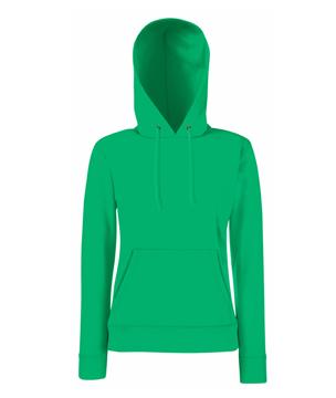 Bluza z kapturem FL 62-038-0 Lady Fit - FL_62-038-0_Kelly green - Kolor: Kelly green