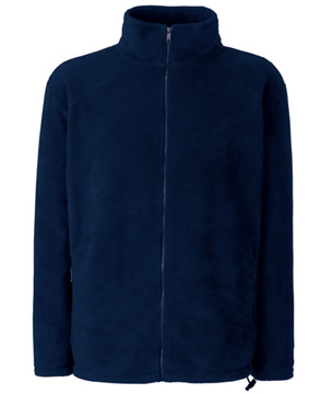 POLAR FL - 62-510-0  FULL ZIP FLEECE - FL_62-510-0_ciemnogranatowy - Kolor: Ciemnogranatowy