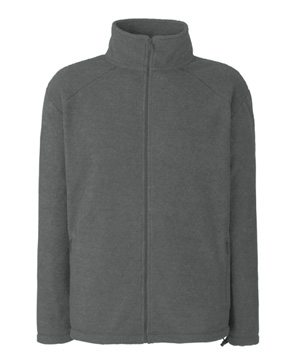 POLAR FL - 62-510-0  FULL ZIP FLEECE - FL_62-510-0_smoke - Kolor: Smoke