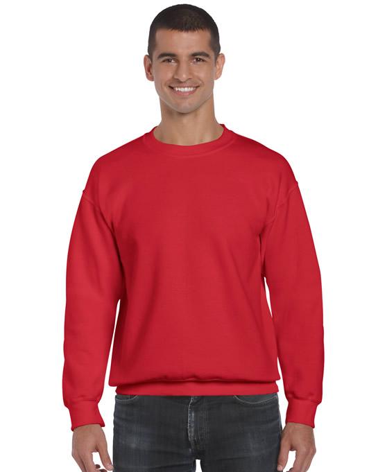 Bluza Ultra Blend Adult GILDAN 12000 - Gildan_12000_red - Kolor: Red