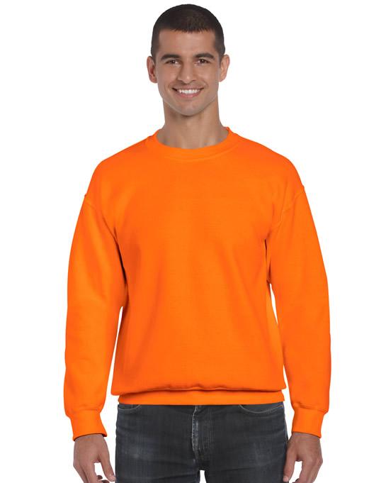 Bluza Ultra Blend Adult GILDAN 12000 - Gildan_12000_saefty_orange - Kolor: Safety orange