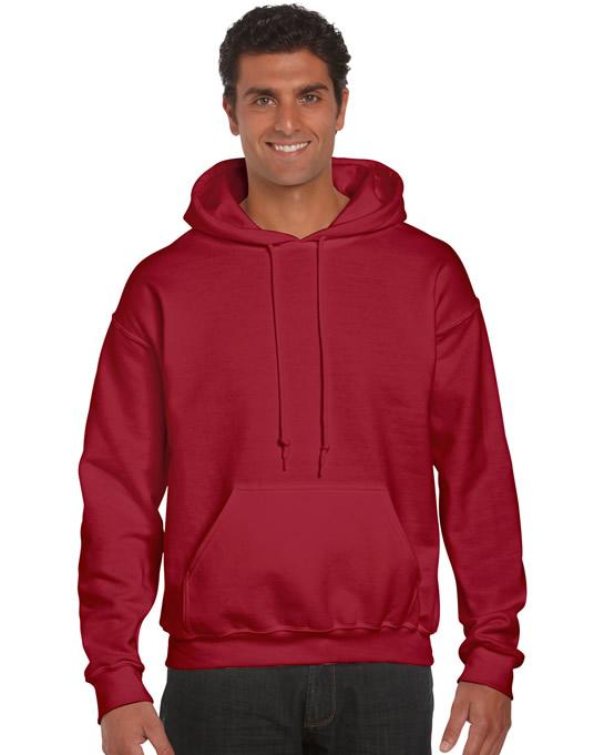 Bluza Ultra Blend Hooded Adult GILDAN 12500 - Gildan_12500_cardinal_red - Kolor: Cardinal red