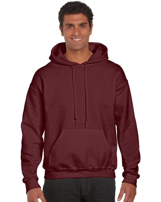 Bluza Ultra Blend Hooded Adult GILDAN 12500 - Gildan_12500_maroon - Kolor: Maroon