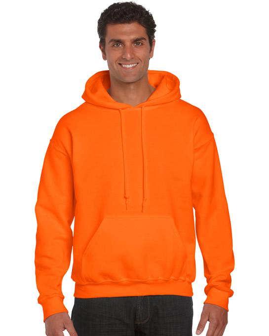 Bluza Ultra Blend Hooded Adult GILDAN 12500 - Gildan_12500_saefty_orange - Kolor: Safety orange