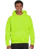 Bluza Ultra Blend Hooded Adult GILDAN 12500 - Gildan_12500_saefty_green Safety green