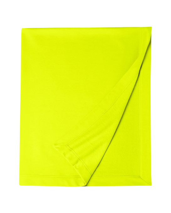 Koc Dryblend Fleece Stadium Blanket GILDAN 12900 - Gildan_12900_saefty_green - Kolor: Safety green