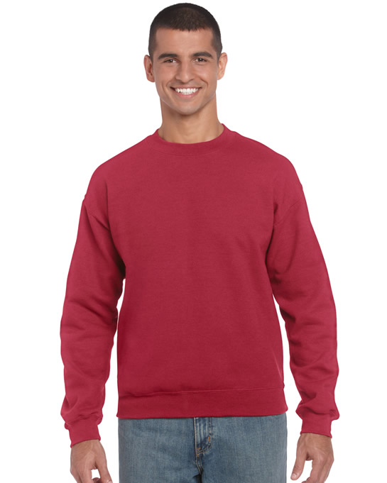Bluza Heavy Blend Classic Fit Adult GILDAN 18000 - Gildan_18000_01 - Kolor: Antique cherry red