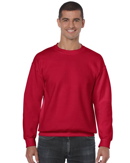 Bluza Heavy Blend Classic Fit Adult GILDAN 18000 - Gildan_18000_08 - Kolor: Cherry red