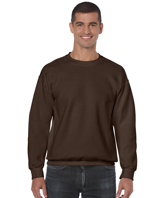 Bluza Heavy Blend Classic Fit Adult GILDAN 18000 - Gildan_18000_09 - Kolor: Dark chocolate