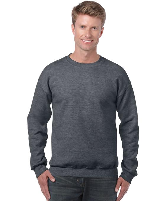Bluza Heavy Blend Classic Fit Adult GILDAN 18000 - Gildan_18000_10 - Kolor: Dark heather