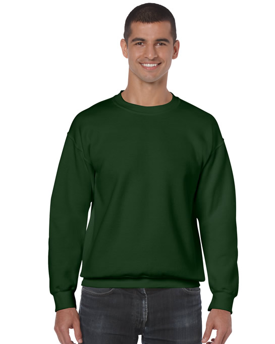 Bluza Heavy Blend Classic Fit Adult GILDAN 18000 - Gildan_18000_11 - Kolor: Forest green