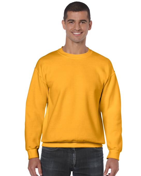 Bluza Heavy Blend Classic Fit Adult GILDAN 18000 - Gildan_18000_13 - Kolor: Gold