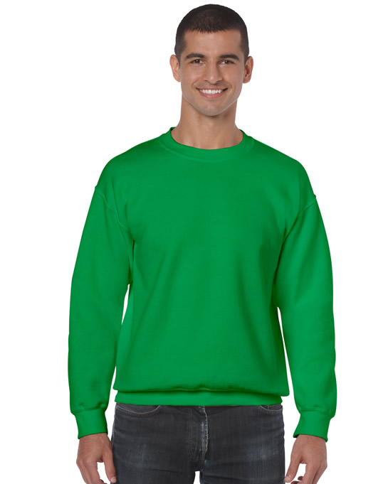 Bluza Heavy Blend Classic Fit Adult GILDAN 18000 - Gildan_18000_17 - Kolor: Irish green