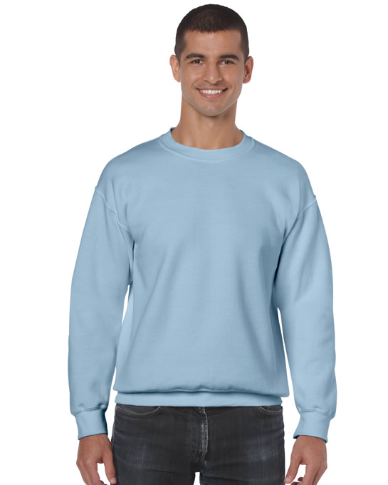 Bluza Heavy Blend Classic Fit Adult GILDAN 18000 - Gildan_18000_19 - Kolor: Light blue