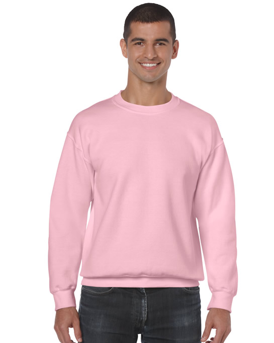 Bluza Heavy Blend Classic Fit Adult GILDAN 18000 - Gildan_18000_20 - Kolor: Light pink