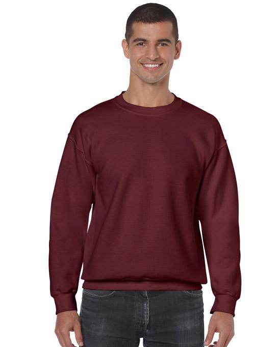 Bluza Heavy Blend Classic Fit Adult GILDAN 18000 - Gildan_18000_21 - Kolor: Maroon