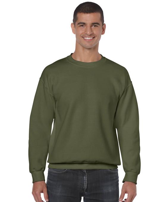 Bluza Heavy Blend Classic Fit Adult GILDAN 18000 - Gildan_18000_22 - Kolor: Military green