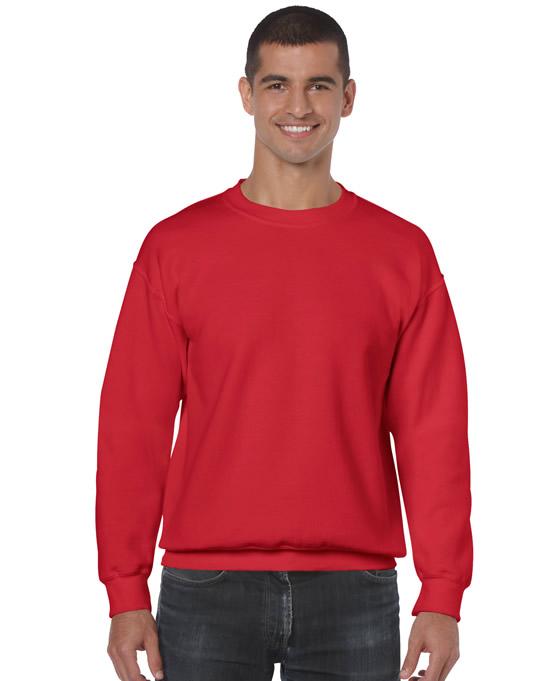 Bluza Heavy Blend Classic Fit Adult GILDAN 18000 - Gildan_18000_26 - Kolor: Red