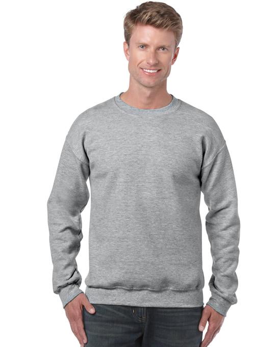 Bluza Heavy Blend Classic Fit Adult GILDAN 18000 - Gildan_18000_32 - Kolor: Sport grey