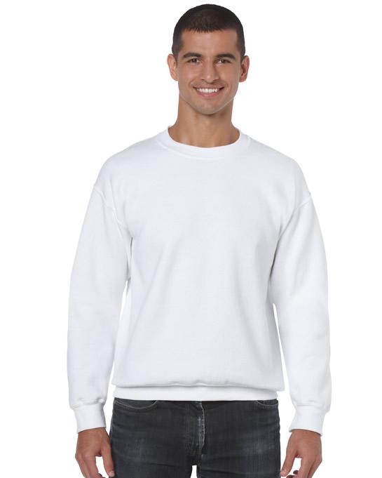 Bluza Heavy Blend Classic Fit Adult GILDAN 18000 - Gildan_18000_33 - Kolor: White