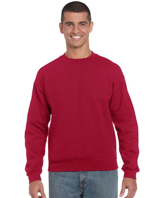 Bluza Heavy Blend Classic Fit Adult GILDAN 18000 - Gildan_18000_05 - Kolor: Cardinal red