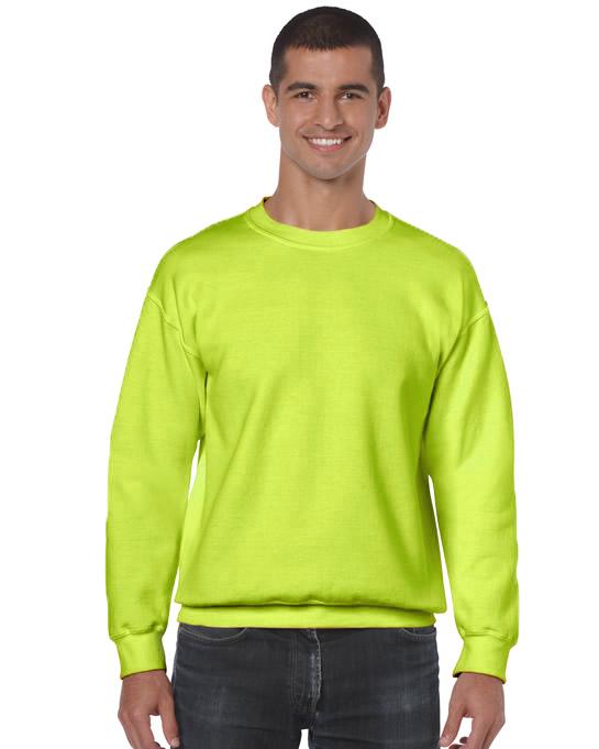 Bluza Heavy Blend Classic Fit Adult GILDAN 18000 - Gildan_18000_28 - Kolor: Safety green