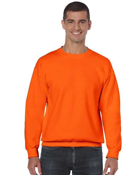 Bluza Heavy Blend Classic Fit Adult GILDAN 18000 - Gildan_18000_29 - Kolor: Safety orange