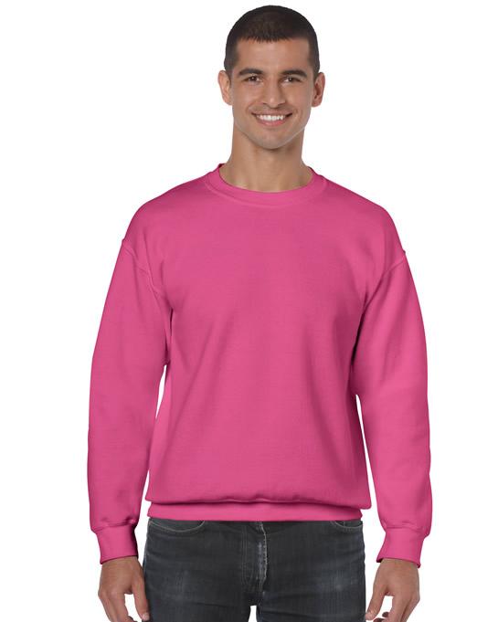 Bluza Heavy Blend Classic Fit Adult GILDAN 18000 - Gildan_18000_30 - Kolor: Safety pink