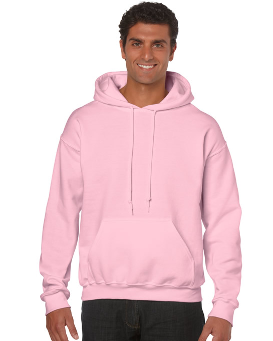 Bluza Heavy Blend Hooded Adult GILDAN 18500 - Gildan_18500_17 - Kolor: Light pink