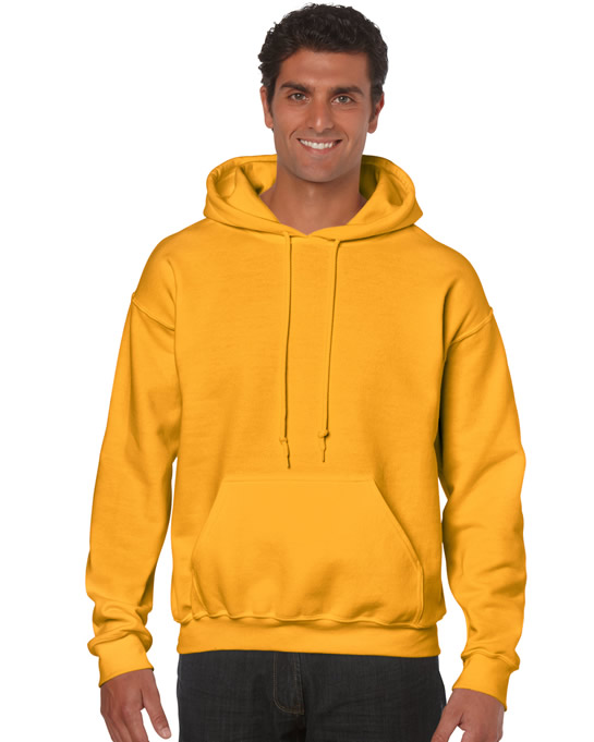 Bluza Heavy Blend Hooded Adult GILDAN 18500 - Gildan_18500_11 - Kolor: Gold
