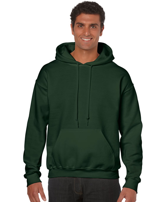 Bluza Heavy Blend Hooded Adult GILDAN 18500 - Gildan_18500_10 - Kolor: Forest green
