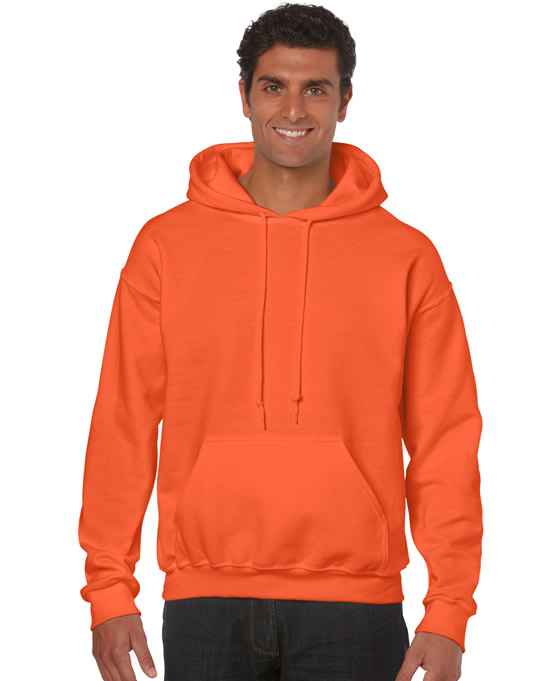 Bluza Heavy Blend Hooded Adult GILDAN 18500 - Gildan_18500_21 - Kolor: Orange
