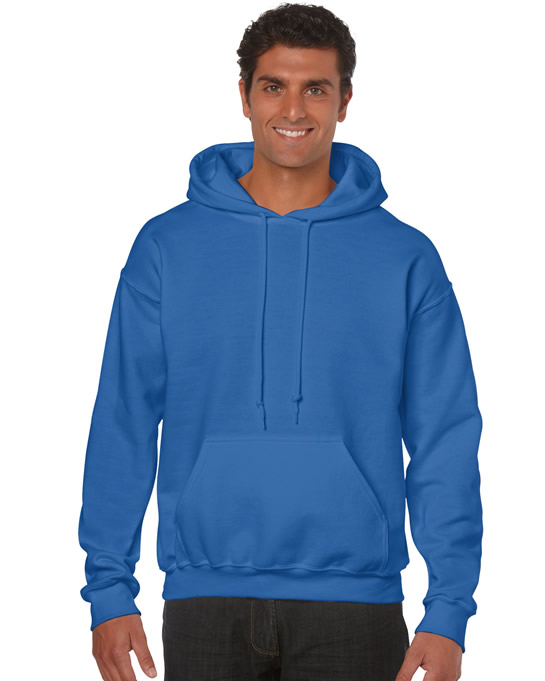 Bluza Heavy Blend Hooded Adult GILDAN 18500 - Gildan_18500_24 - Kolor: Royal blue