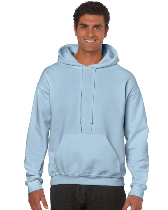 Bluza Heavy Blend Hooded Adult GILDAN 18500 - Gildan_18500_16 - Kolor: Light blue