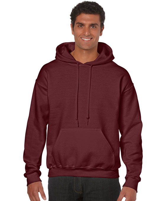 Bluza Heavy Blend Hooded Adult GILDAN 18500 - Gildan_18500_18 - Kolor: Maroon