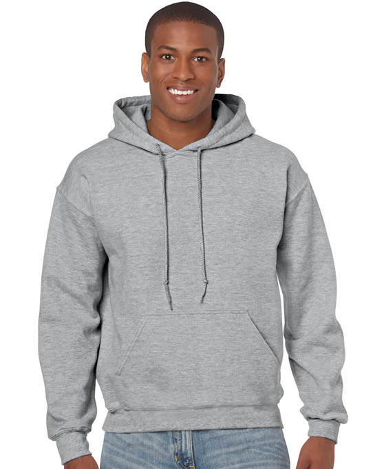 Bluza Heavy Blend Hooded Adult GILDAN 18500 - Gildan_18500_26 - Kolor: Sport grey