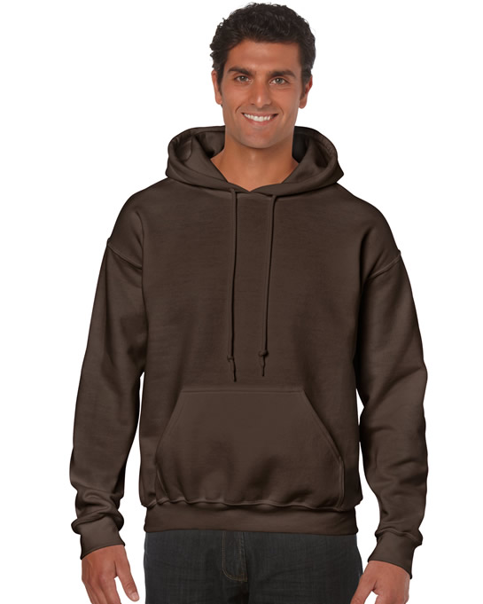 Bluza Heavy Blend Hooded Adult GILDAN 18500 - Gildan_18500_08 - Kolor: Dark chocolate