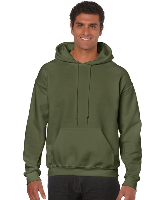 Bluza Heavy Blend Hooded Adult GILDAN 18500 - Gildan_18500_19 - Kolor: Military green