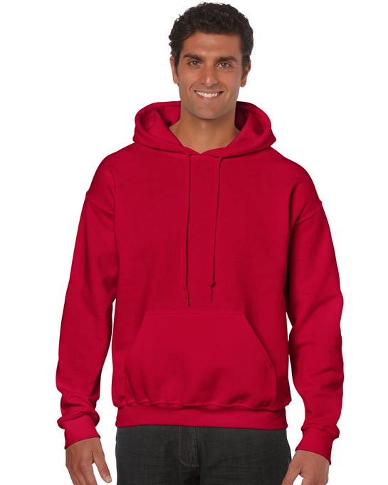 Bluza Heavy Blend Hooded Adult GILDAN 18500 - Gildan_18500_07 - Kolor: Cherry red