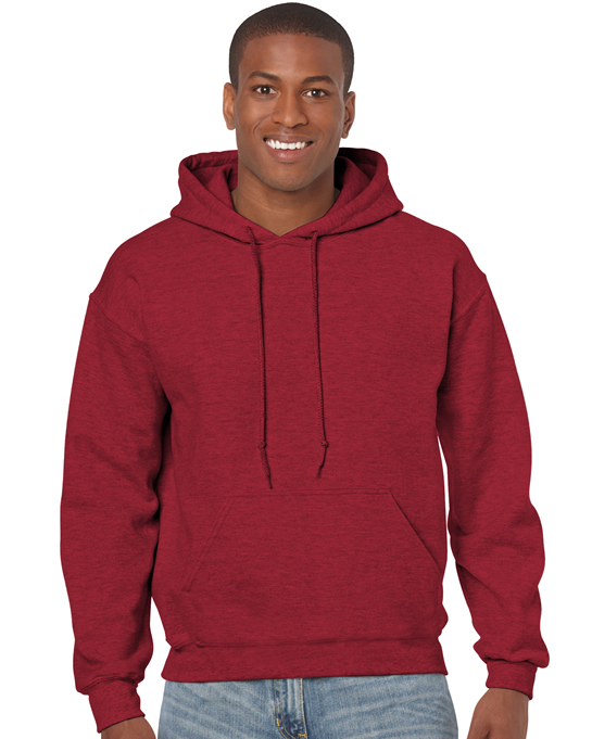 Bluza Heavy Blend Hooded Adult GILDAN 18500 - Gildan_18500_01 - Kolor: Antique cherry red