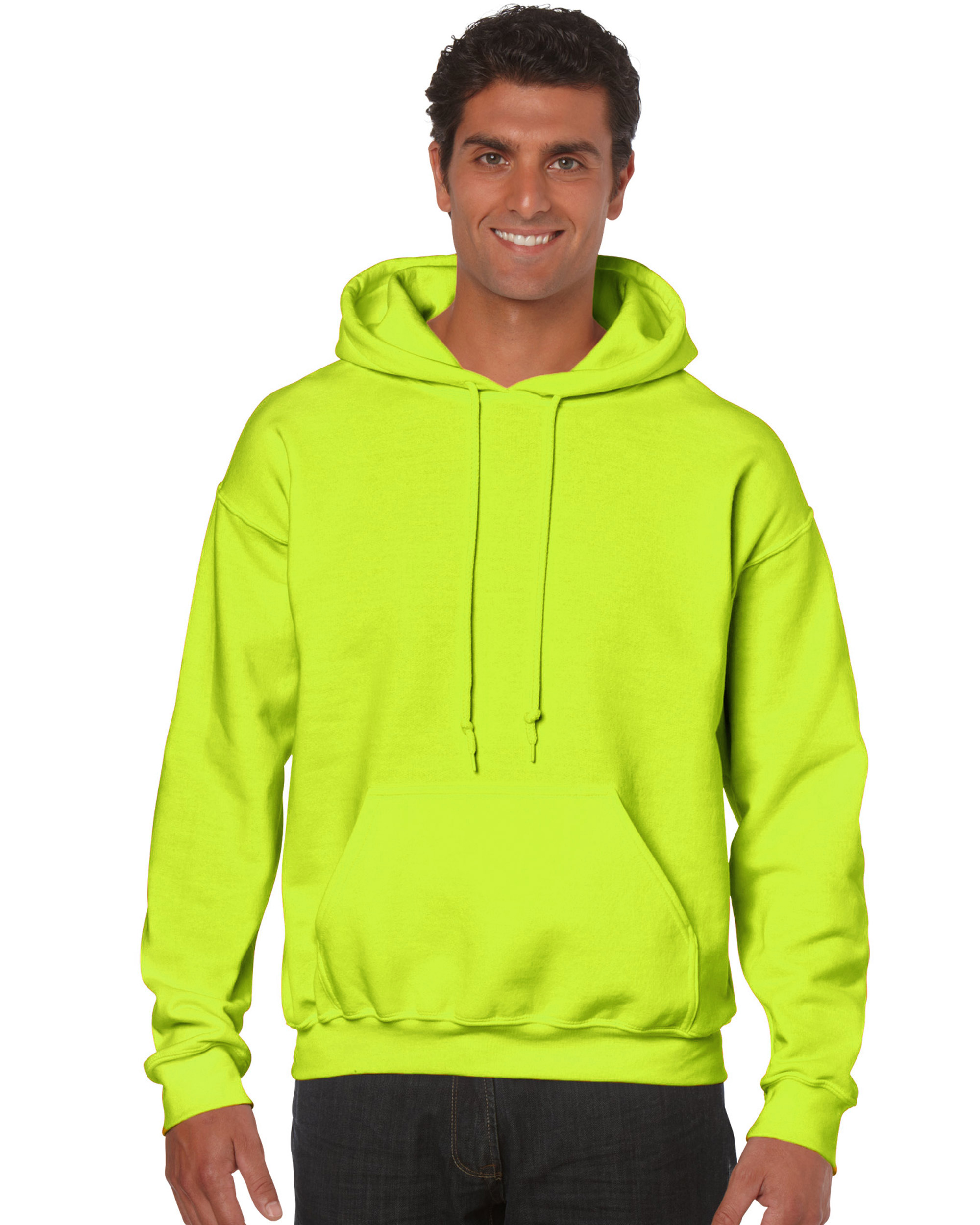 Bluza Heavy Blend Hooded Adult GILDAN 18500 - Gildan_18500_29 - Kolor: Safety green