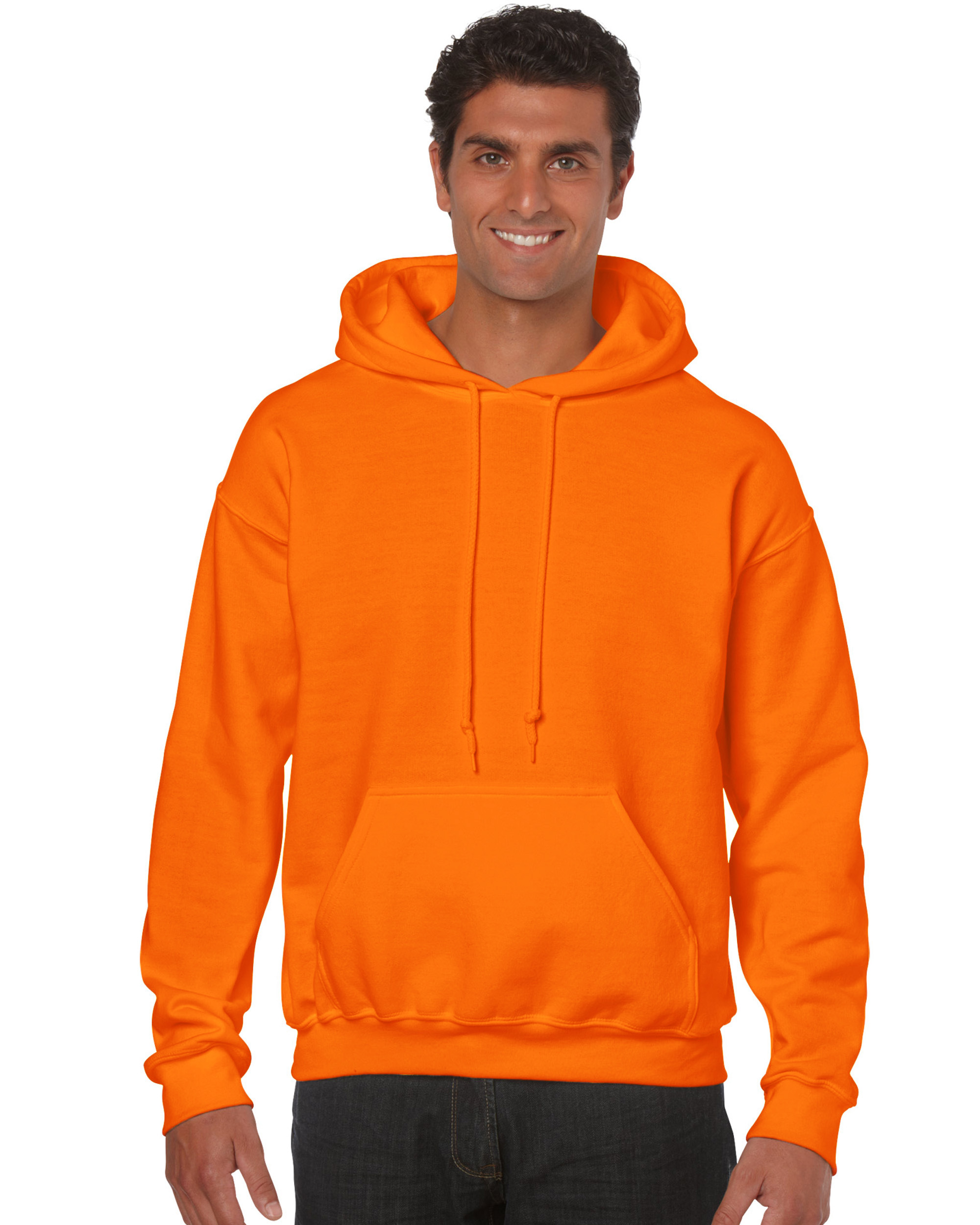 Bluza Heavy Blend Hooded Adult GILDAN 18500 - Gildan_18500_29 - Kolor: Safety orange