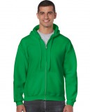 Bluza Heavy Blend Full Zip Hooded Adult GILDAN 18600 - Gildan_18600_06 Irish green
