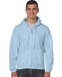 Bluza Heavy Blend Full Zip Hooded Adult GILDAN 18600 - Gildan_18600_07 Light blue