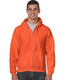 Bluza Heavy Blend Full Zip Hooded Adult GILDAN 18600 - Gildan_18600_11 Orange
