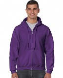 Bluza Heavy Blend Full Zip Hooded Adult GILDAN 18600 - Gildan_18600_12 Purple