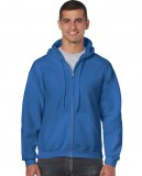 Bluza Heavy Blend Full Zip Hooded Adult GILDAN 18600 - Gildan_18600_14 Royal blue