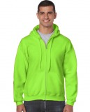 Bluza Heavy Blend Full Zip Hooded Adult GILDAN 18600 - Gildan_18600_19 Safety green